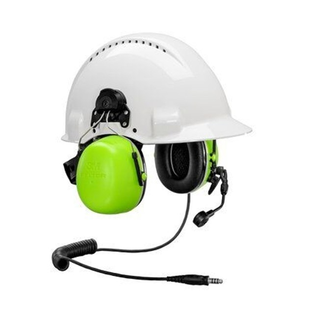 3M™ PELTOR™ CH-5 High Attenuation Headset, J11 connector, Helmet fixture